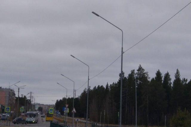 В Ноябрьске закончили проверку системы уличного освещения