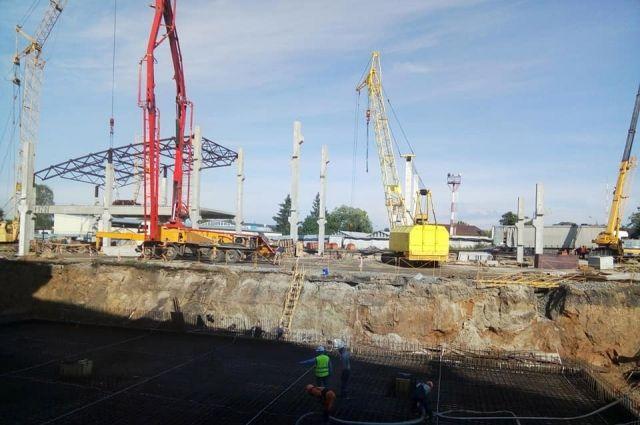 В аэропорту «Киев» начали строить новую секцию международного терминала