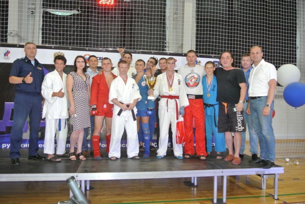 Награждение команды-победительницы, 31 Отдельной Десантной Штурмовой Бригады ВДВ.