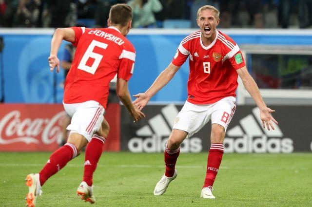 Сборная РФ пофутболу добилась наибольшего результата