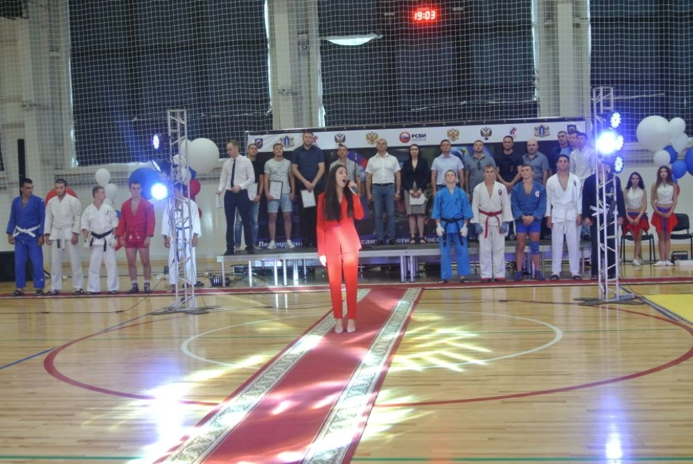 Открытие турнира, гимн Российской Федерации