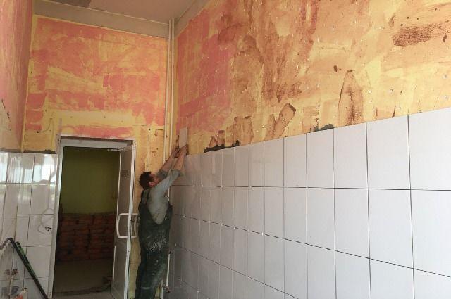 В больнице имени Семашко ремонтируют реанимационное отделение.