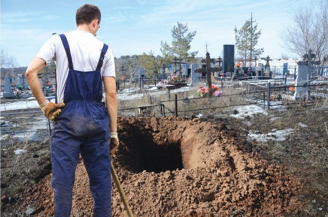 В Оренбуржье за полгода увеличилась смертность.