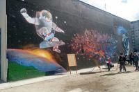 В Ноябрьске трансформаторную станцию превратили в открытый космос