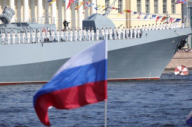 Ямальцы приняли участие в праздновании Дня ВМФ в Кронштадте