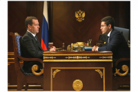 Дмитрий Медведев и Дмитрий Артюхов обсудили развитие Ямала