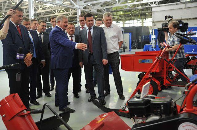 В  2017 году по индексу промышленного производства наша область заняла первое место в ЦФО.