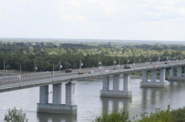 Новый мост в Барнауле