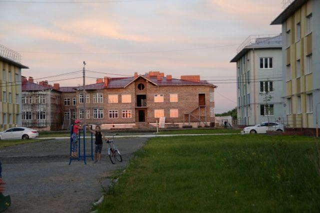 Рябиновка - микрорайон на левом берегу.