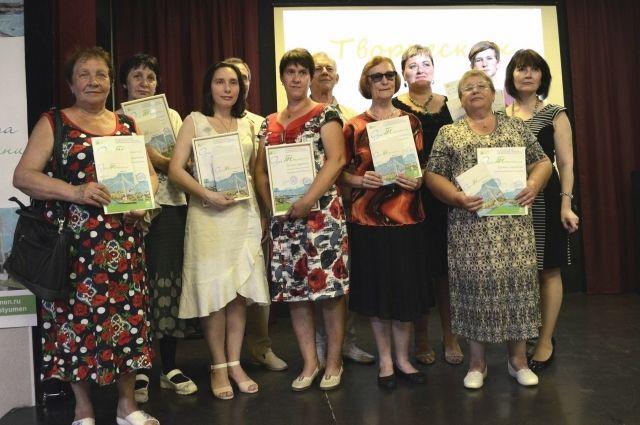 В Тюмени наградили самодеятельных писателей и поэтов