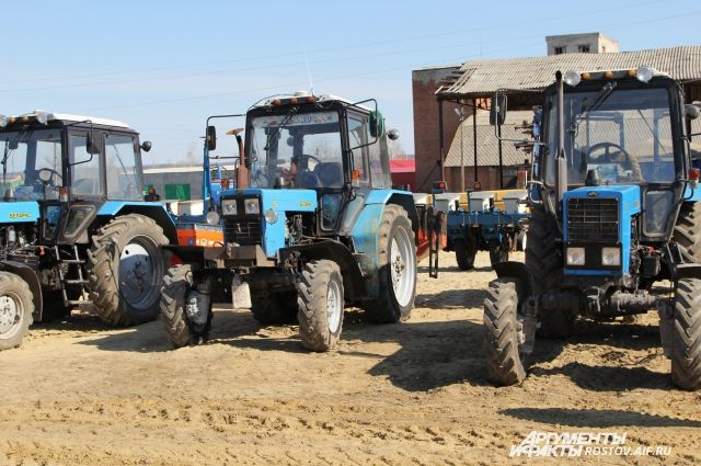 В крае требуются трактористы
