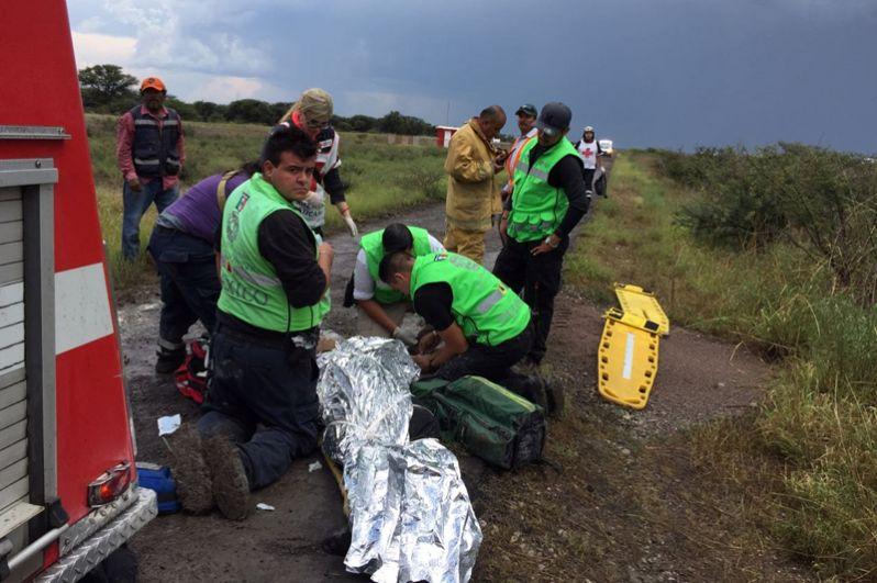 Губернатор мексиканского штата Дуранго Хосе Росас Аиспуро в микроблоге в Twitter подтвердил, что результате крушения никто не погиб.