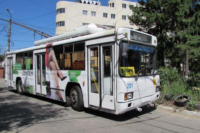 Часть троллейбусных маршрутов временно закроют.