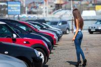 В Украине увеличилось количество первичных регистраций легковых автомобилей