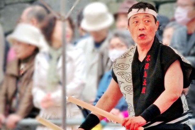Начало праздника День самурая.