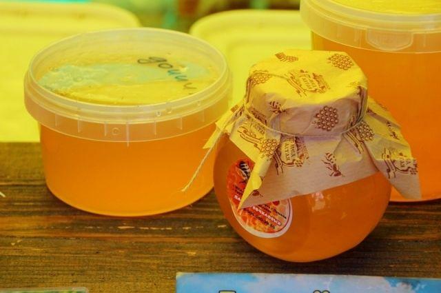 Ярмарка меда в Барнауле