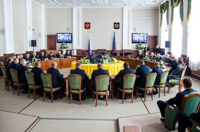 Заседание клуба проходило в шахтоуправлении «Комсомолец».
