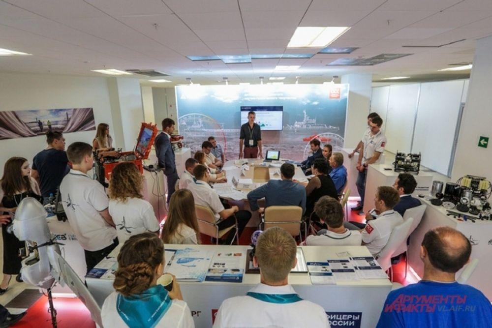 Обмен опытом собирал много участников.