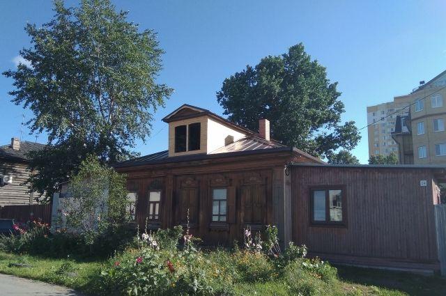 Дому на улице Пароходской, 24 исполнилось 100 лет.