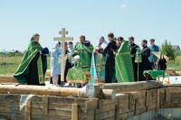 Молебное пение совершил митрополит Пензенский и Нижнеломовский Серафим.