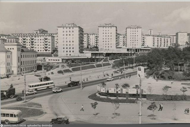 Высокие дома украсили проспект 100 лет Владивостоку.