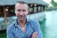 Счастливый Олег Винник на отдыхе в Доминикане.