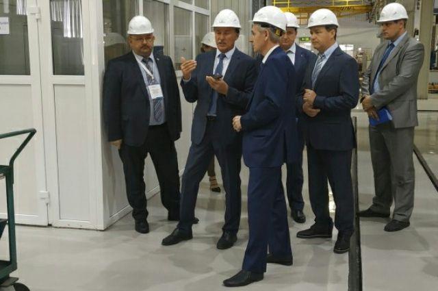 Андрей Артюхов посетил Тюменский ремонтно-механический завод