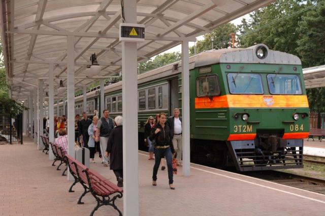 С 6 августа меняется расписание поезда между Светлогорском и Зеленоградском.