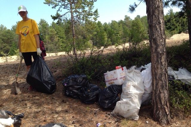 На деньги, собранные во время аукциона, купят мусорные мешки, перчатки для волонтёров.