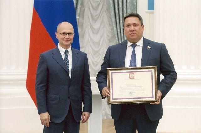 Сенатор Владимир Полетаев