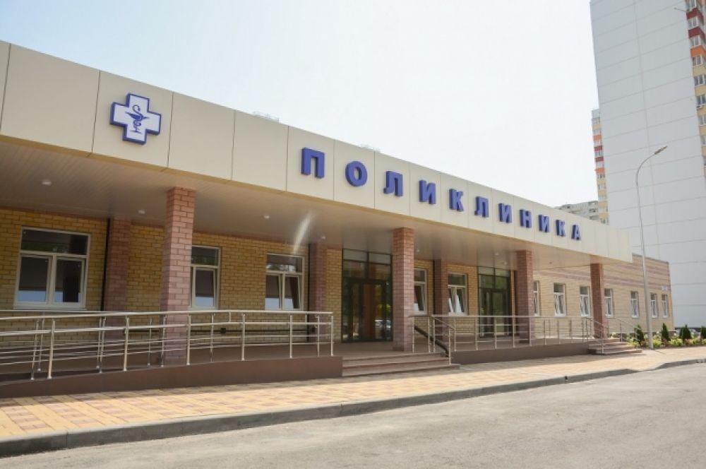 Такую поликлинику откроют осенью в ростовском жилом районе «Суворовский».