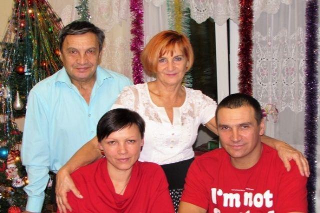 Семья Аркадия и Надежды Реутт.