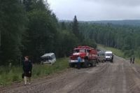 На место автоаварии выехало руководство ГУ МВД России по Пермскому краю и следственно-оперативная группа.