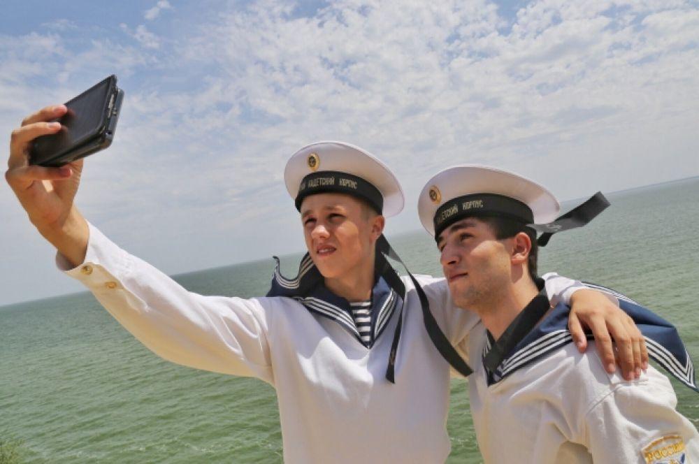 Празднование Дня ВМФ в Цимлянске и Волгодонске.