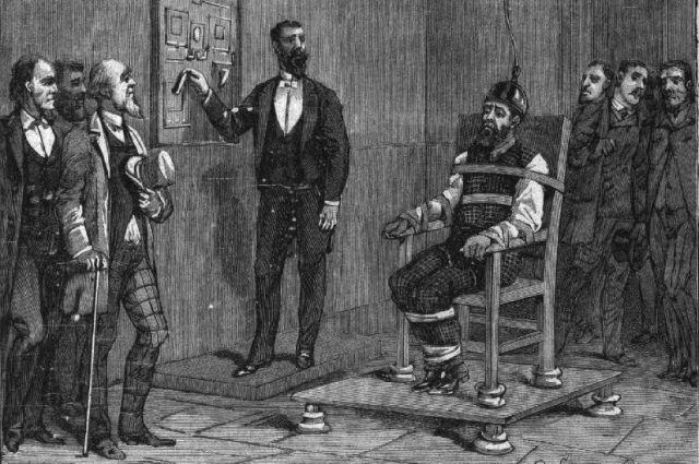 Казнь Уильяма Кеммлера, 1890 г.
