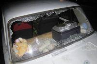 Под Киевом двое россиян зверски избили местных жителей и разбили им машину