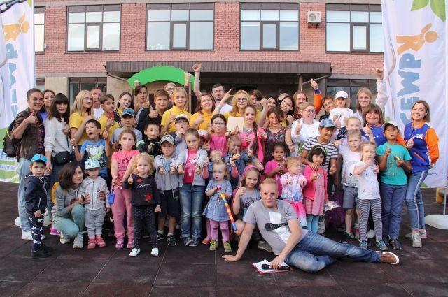 В ЖК «Паруса» прошло мероприятие в рамках проекта «Семья во дворе»