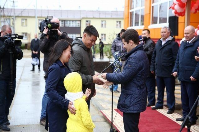 В Тазовском новоселье: квартиры получили 25 семей