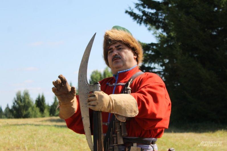 Русский средневековый воин