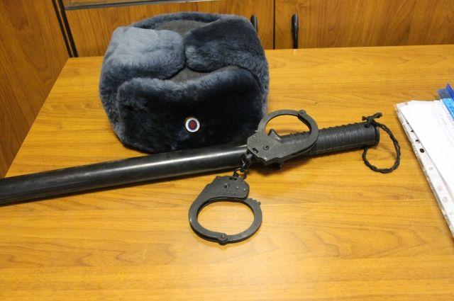 ранее судимый мужчина изготовил обрез ружья.