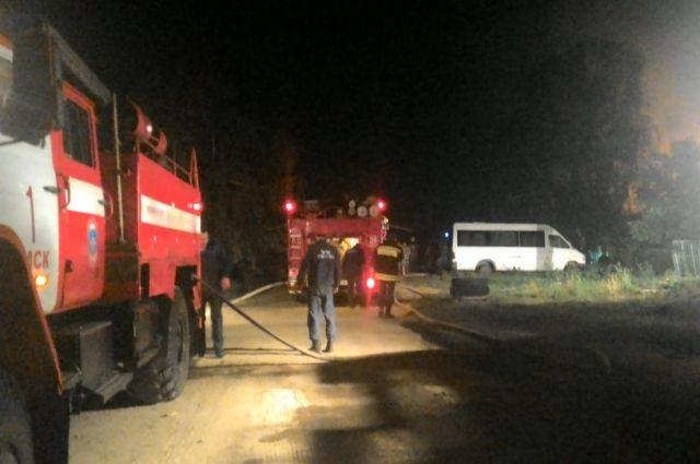 В Омской области за минувшие сутки произошло 11 пожаров.