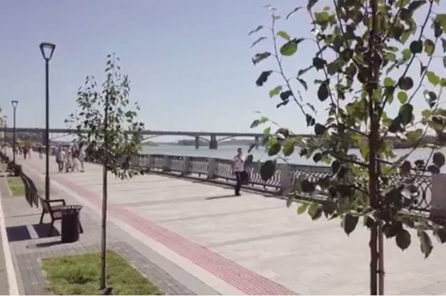 Территорию облагораживают в рамках проекта «Формирование комфортной городской среды».