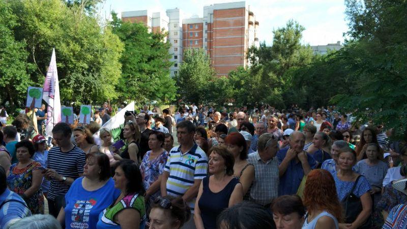Резолюцию против застройки Александровской рощи подписали более 1000 ростовчан.