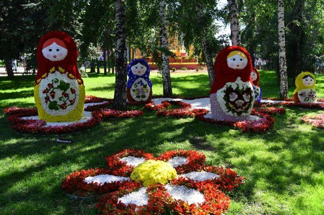 Тема омской выставки цветов