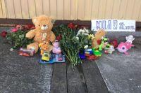 Место в Сочи, где семилетний Коля провалился в ливневую траншею.