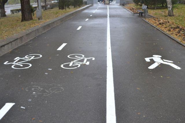 В Омске остро стоит проблема велодорожек.