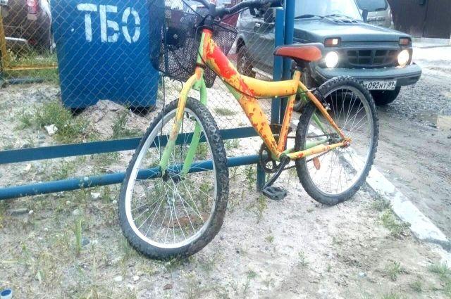 В Тарко-Сале водитель сбил 11-летнюю велосипедистку
