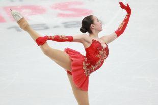 Спортсменка продемонстрировала новый номер на шоу The Ice-2018 в Японии.