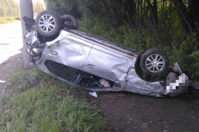 Водитель пострадал, его доставили в городскую больницу, где назначили амбулаторное лечение.