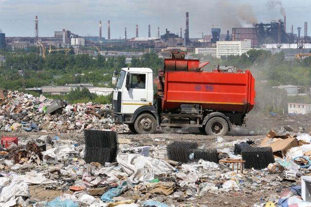Большая часть мусора на свалках - органика.